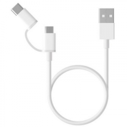 2in1 Cable Micro-Type C WH...